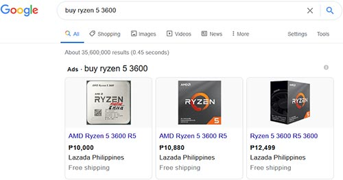 google shopping ads management cebu philippines